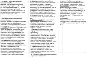 Памятка для родителей АРТИКУЛЯЦИОННЫЕ УПРАЖНЕНИЯ ДЛЯ СВИСТЯЩИХ ЗВУКОВ стр.2